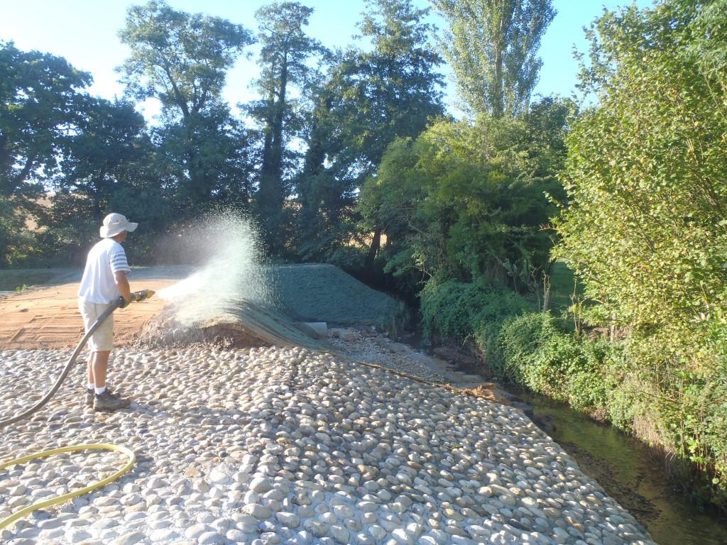 Aménagement paysager et aquatique, génie végétal, zone humide, COMBIER PAYSAGE 71