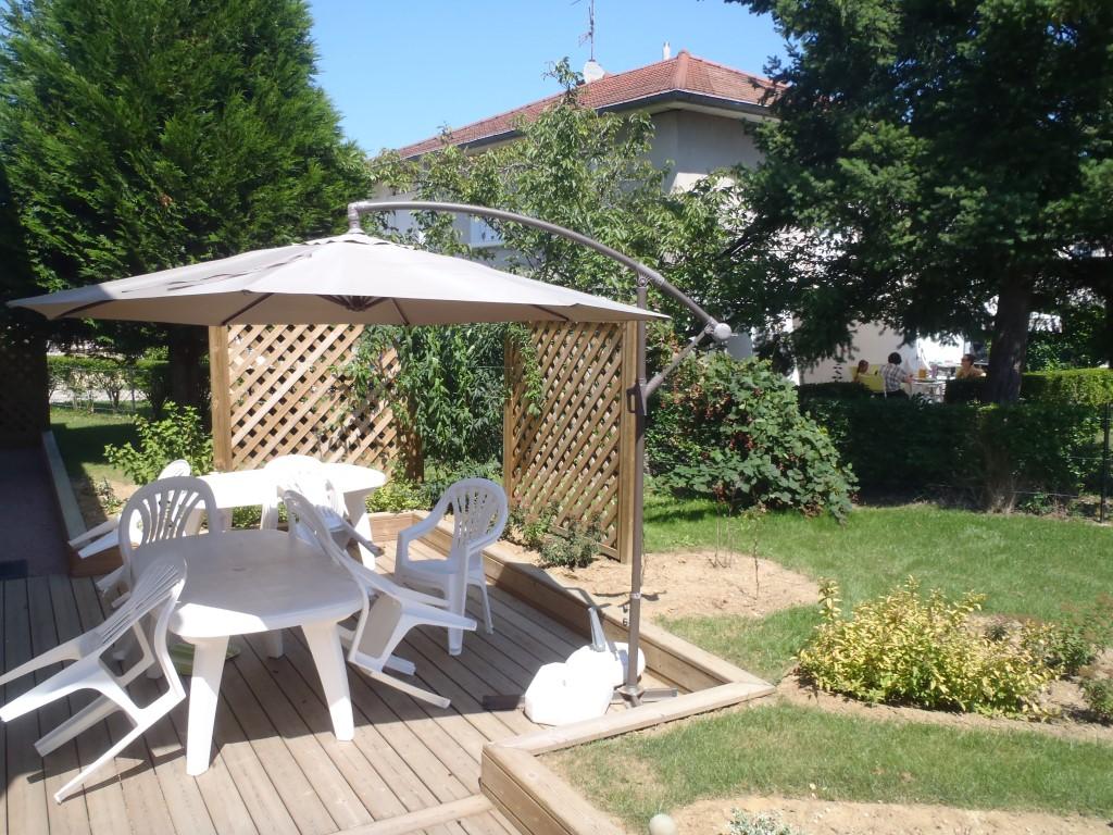 Aménagement paysager et aquatique, extérieur, Terrasse, Dallage, COMBIER PAYSAGE 71