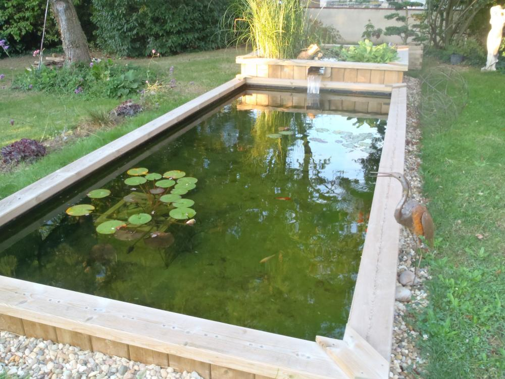 Beautiful Bassin De Jardin Non Enterre Contemporary - Design ...