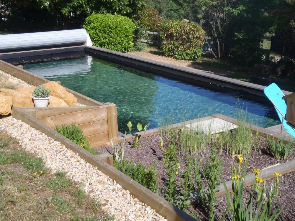Etude de conception piscine ou bassin filtration for Etude de conception